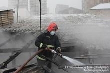 Пожар на улице Рустамяна