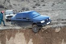 Փրկարարներն ավտոմեքենան դուրս են բերել ճանապարհի երթևեկելի հատված