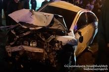 RTA on Marshal Babajanyan street: there were casualties