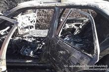 Пожарные-спасатели потушили пожар, вспыхнувший в автомобиле