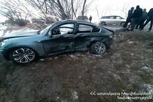 ДТП на автодороге Гюмри-Азатан: есть пострадавшие