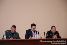Armavir Regional Rescue Department summarized the activities of 2020