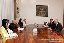 ES Minister met with the Ambassador of Belarus to Armenia