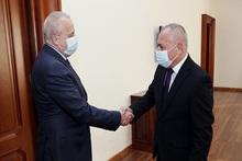 Անդրանիկ Փիլոյանն ընդունել է Հայաստանում Ռուսաստանի   արտակարգ և լիազոր դեսպան Սերգեյ Կոպիրկինին