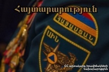 """Warning, evacuation, shelter"" activity in Lori province"