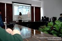 Мероприятие по осведомленности о землетрясении с участием школьников