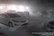 Автодорога Горис-Сисиан закрыта из-за метели: МЧС призывает избегать ездить в этом направлении