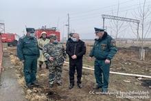 ES Minister visited Armavir province