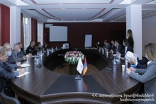 Representatives of the MES met with the international experts