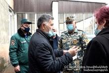 Специалисты МЧС изучили школы и детские сады города Ереван