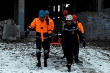 Վարժանք. օգնություն փլուզված շենքում գտնվող քաղաքացուն