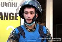 На улице Каджазнуни спасатели обнаружили гранату РГД-5
