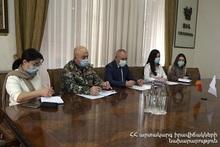 Министр по ЧС принял чрезвычайного и полномочного посла Японии в Армении