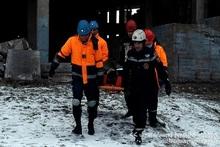 Учение: помощь гражданину, находящемуся в обрушившемся здании