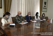 ES Minister hosted the Ambassador Extraordinary and Plenipotentiary of Japan to Armenia