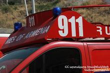 Пожар в городе Ванадзор: есть погибший