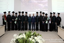 Diplomas were awarded to the graduates of CMSA of MES