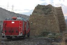 Արևաշատ գյուղում այրվել է անասնակեր