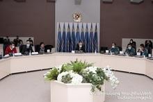 Состоялось внеочередное заседание общественного совета при министре по ЧС