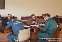 В регионах Гегаркуник и  Сюник были проведены работы над разработкой планов управления рисками бедствий