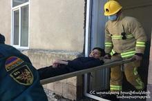 Специальное тактическое учение в Варденисской основной школе N2