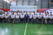 Эксперт Лорийского РСУ - победитель чемпионата по армрестлингу среди инвалидов