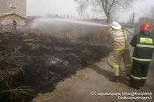 Пожарные-спасатели потушили пожары на территории общей площадью 16․2 га