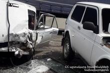ДТП на автодороге Капан-Горис: есть пострадавшие