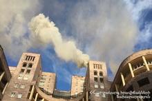 Пожарные-спасатели потушили пожар, вспыхнувший на Северном проспекте и эвакуировали граждан