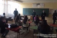 Training in Sarukhan and Karmirgyukh communities