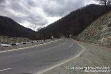 Some roads are difficult to pass in Armenia