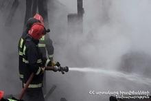 Пожарные-спасатели потушили пожары
