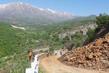 Քարաթափում Երևան-Մեղրի ավտոճանապարհին