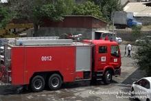 Пожар на улице Минска