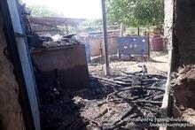 Пожар в селе Талворик