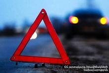 ДТП на автодороге Арташат-Верин Арташат