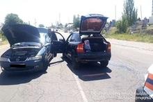 Столкнулись автомобили: есть пострадавший