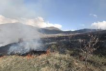 Firefighters extinguished fires broken out in the area of about 79,6 ha in total