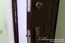 Rescuers opened the locked doors