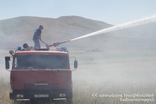 About 15 ha of grassland burnt in Choratan village