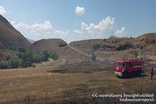 Firefighters extinguished fires broken out in the area of about 19,4 ha in total