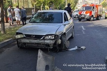 Running down accident on M. Babajanyan street: there was a victim