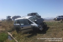 RTA on Sisian-Yerevan roadway: there were victims and casualties