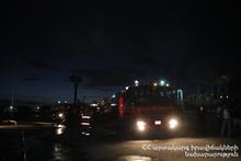 Пожар в селе Гай