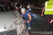RTA on Rostovyan street: there were casualties