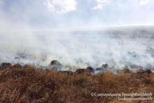 Fire was extinguished near Kut village