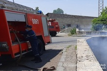 About 1300 bales of hay burnt in Sipan village