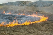 Firefighters extinguished fires broken out in the area of about 38,55 ha in total