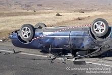 ДТП на автодороге Сисиан-Ереван: есть погибший и пострадавшие