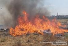 Fire on Artashat highway